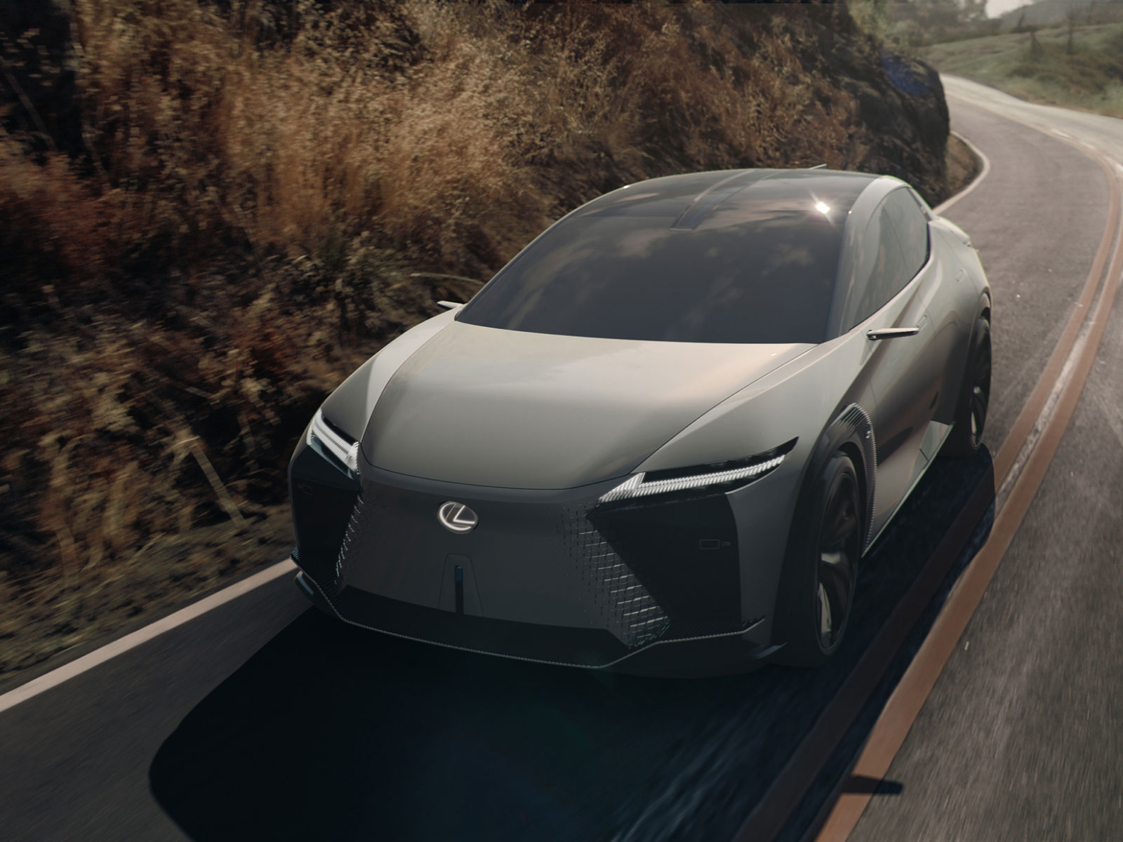 The Lexus LF-Z Electrified Concept Car